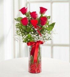 En Ucuz Çiçek 5 gül