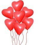 Kalp Uçan Balon 7 Ad