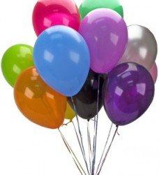Rengarenk Uçan Balon 9 Ad