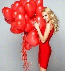 22 Ad. Kalp Uçan Balon